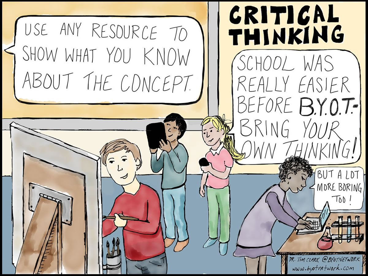 critical thinking 1 Part 1 of the technyou critical thinking resource the resource covers basic logic and faulty arguments, developing student's critical thinking skills suitable for year 8-10, focused on science.
